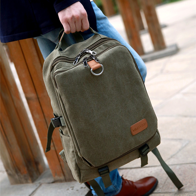 Casual Oxford Business Men's Laptop Backpack  3