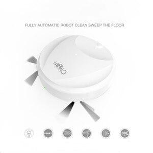 Многофункциональный Умный пылесос для пола, автоматический перезаряжаемый умный робот для подметания, пылесос для сухой и влажной уборки