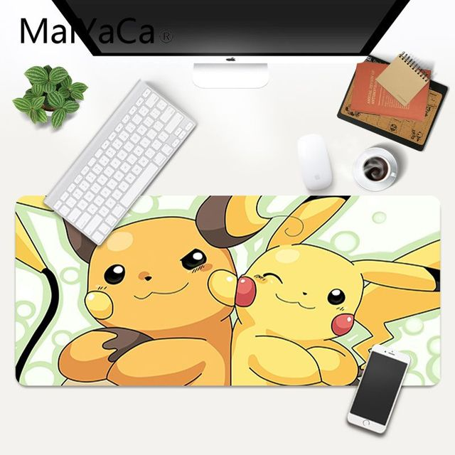 MaiYaCa Pokemons DIY Design Pattern Game mousepad XXL Mouse Pad Laptop Desk Mat pc gamer completo for lol/world of warcraft 4