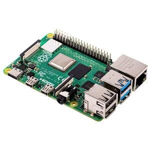 2019 Original Official Raspberry Pi 4 Model B 4GB RAM Development Board v8 1.5GHz Support 2.4/5.0 GHz WIFI Bluetooth 5.0