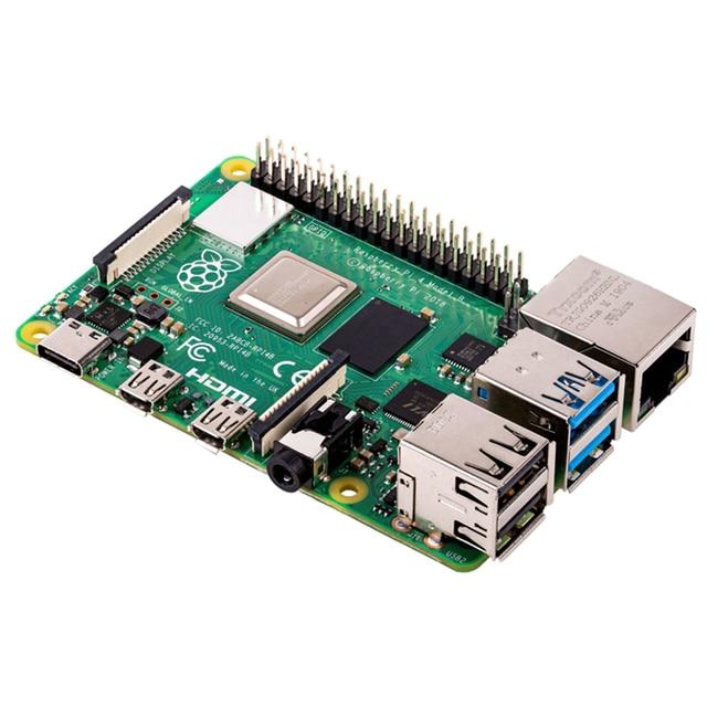 Latest Raspberry Pi 4 Model B with 1/2/4GB RAM BCM2711 Quad core Cortex-A72 ARM v8 1.5GHz Support 2.4/5.0 GHz Speeder Than Pi 3B 1