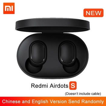 In Stock 2020 New Xiaomi Redmi Airdots S TWS Bluetooth 5.0 Wireless Earphones Noise Reduction With Mic Earbuds AI Control 2020 xiaomi redmi airdots 2 earphone wireless bluetooth 5 0 charging in ear stereo bass earphones ture wireless earbuds ai control