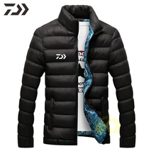 Daiwa Рыболовная одежда зимняя рыболовная куртка мужская термальная хлопковая уличная многофункциональная рыболовная рубашка мужская одежда для зимней рубашки