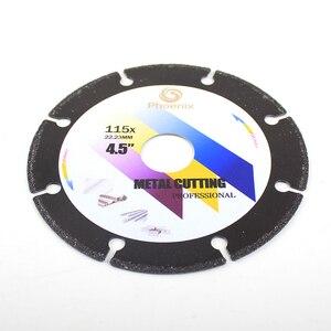 Image 5 - Raizi disque de coupe en métal 4, 4.5, 5 pouces, pour meuleuse dangle, lame de scie en diamant abrasive pour lacier, la tôle et lacier inoxydable