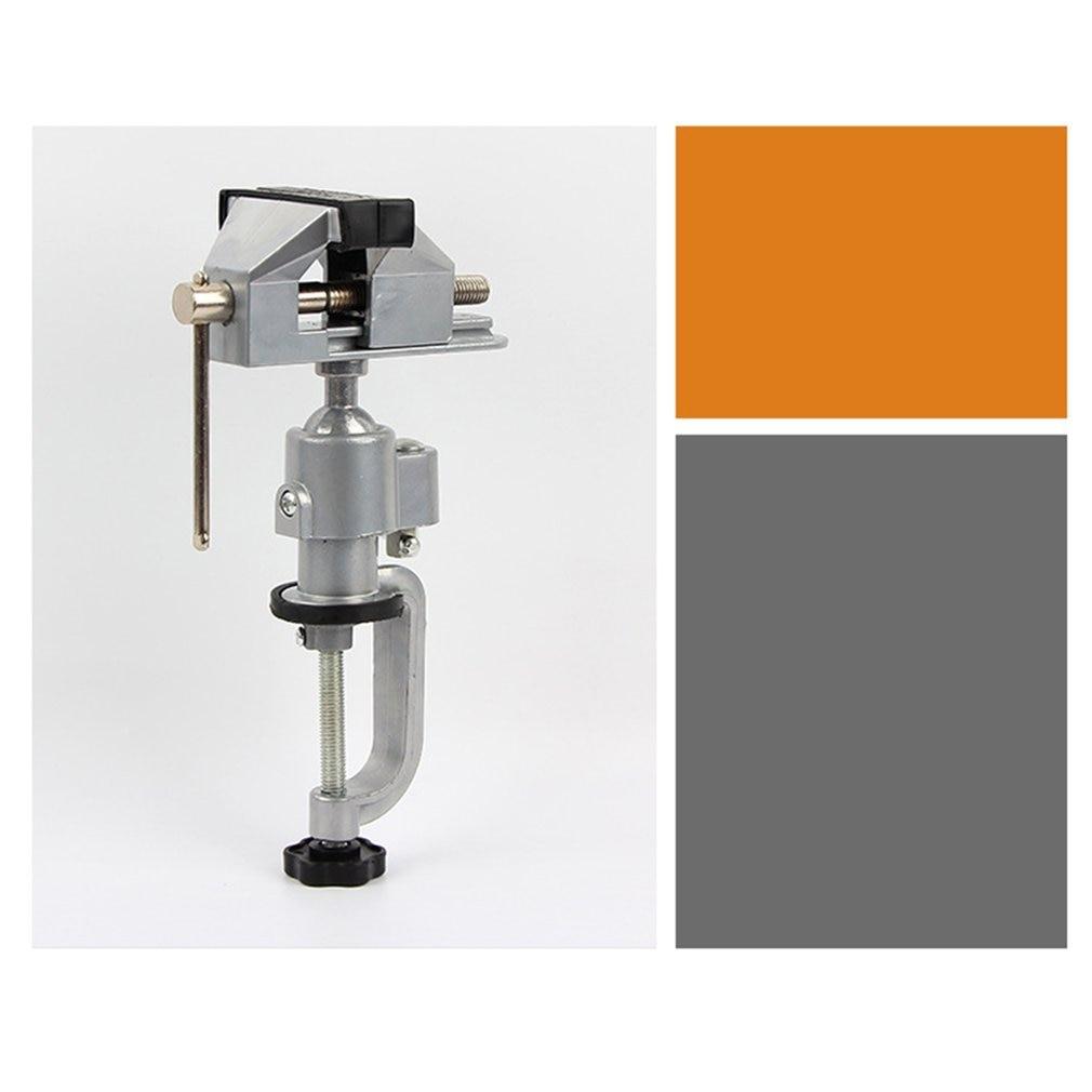 2 in 1 Table Vise Bench Vice Aluminium Alloy 360 Degree Rotating Universal Vise Precise Mini Vise Clamp Alloet