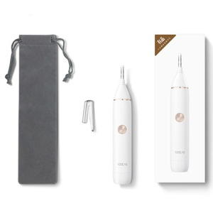 Image 5 - Xiaomi Soocas IPX5 su geçirmez burun kaş saç düzeltici keskin bıçak vücut yıkama Minimalist tasarım güvenli temizleyici Trim kişisel günlük