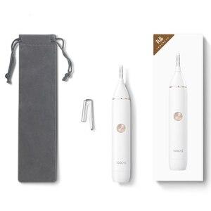 Image 5 - Xiaomi Soocas afeitadora de cejas IPX5, resistente al agua, con hoja afilada, diseño minimalista, limpiador seguro, ajuste Personal y diario