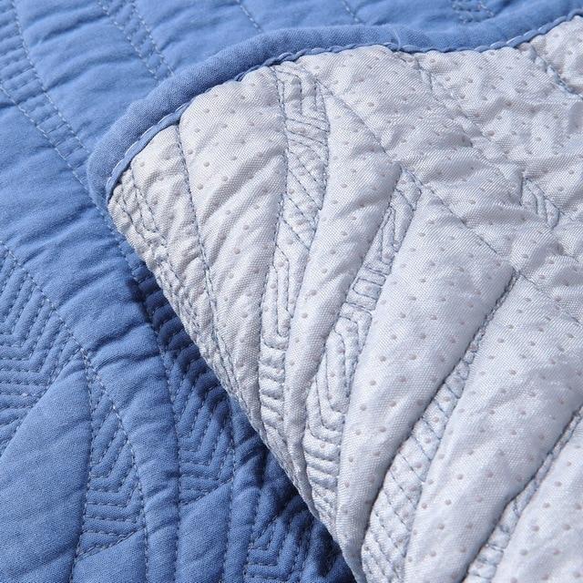комбинированный чехол для дивана из хлопковой ткани на все сезоны фотография