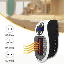 220v 500w mini portátil aquecedor elétrico desktop parede acessível aquecimento fogão de parede aquecedor do radiador máquina para escritório em casa dropship