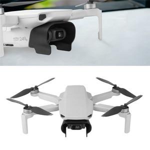 Image 5 - Легкая Антибликовая бленда объектива для DJI Mavic Mini Drone Gimbal Camera Защитная крышка быстросъемный объектив Защита от солнца