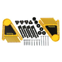 Multi-purpose Tools Set Double Featherboards Table Saws Router Tables Fences Electric Circular Saw DIY For Woodworking Tools(China)
