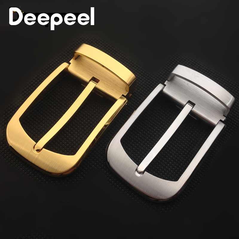 Deepeel 1pc ID35mm High-grade Pure Copper Belt Buckles Solid Brass Pin Buckle Belt Head DIY Leathercrafts Hardware Parts YK068