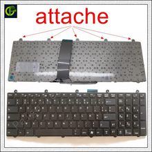 Francés teclado AZERTY para MSI GP60 GP70 CR70 CR61 CX61 CX70 CR60 GE70 GE60 GT60 GT70 GX60 GX70 0NC 0ND 0NE 2OC 2OD 2OJWS 2PC FR(China)