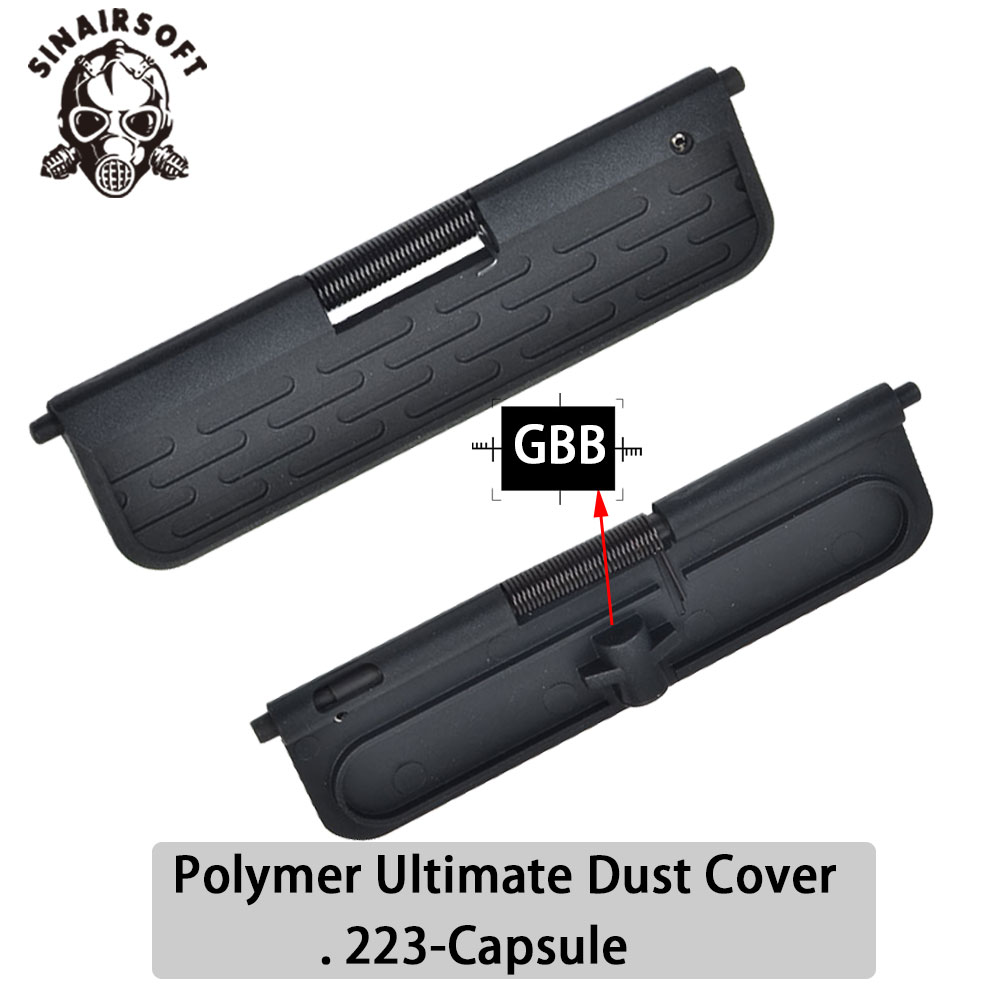 AR Enhanced Polymer Ultimate Dust Cover. 223-Capsule For AEG/GBB Airsoft AR-15/M16/M4 Standard Black Free Shipping