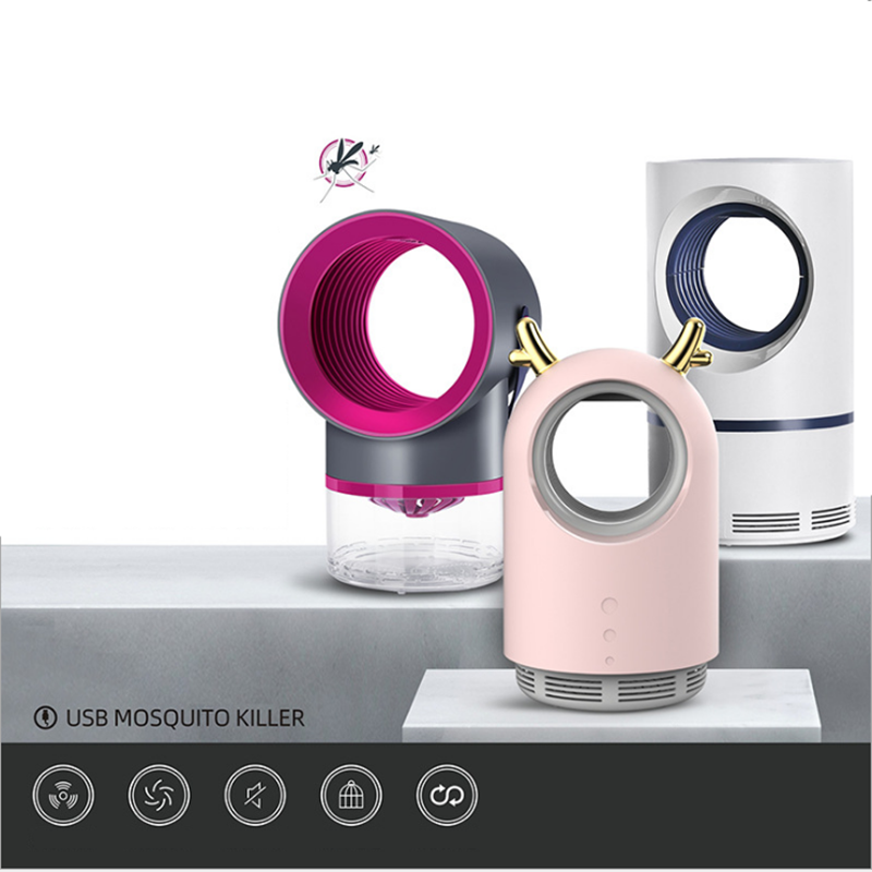 Mosquito Killer Lamp USB Electric No Noise Insect Killer Flies Trap Light Anti Mosquito Lamp No Radiation For Mata Mosquito