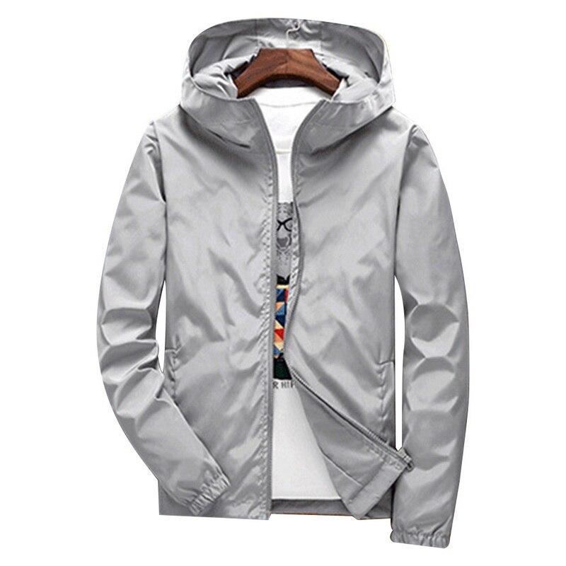 Summer Fashion Men Hooded Jacket Causal 2020 Coat Hoodies Windbreaker Jacket Thin Chaquetas Hombre Jaquetas Masculina Streetwear