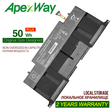 ApexWay 7.4V 50WH  Battery For Asus C21-UX31 C22-UX31 C23-UX31 ZenBook UX31A UX31E Ultrabook Series
