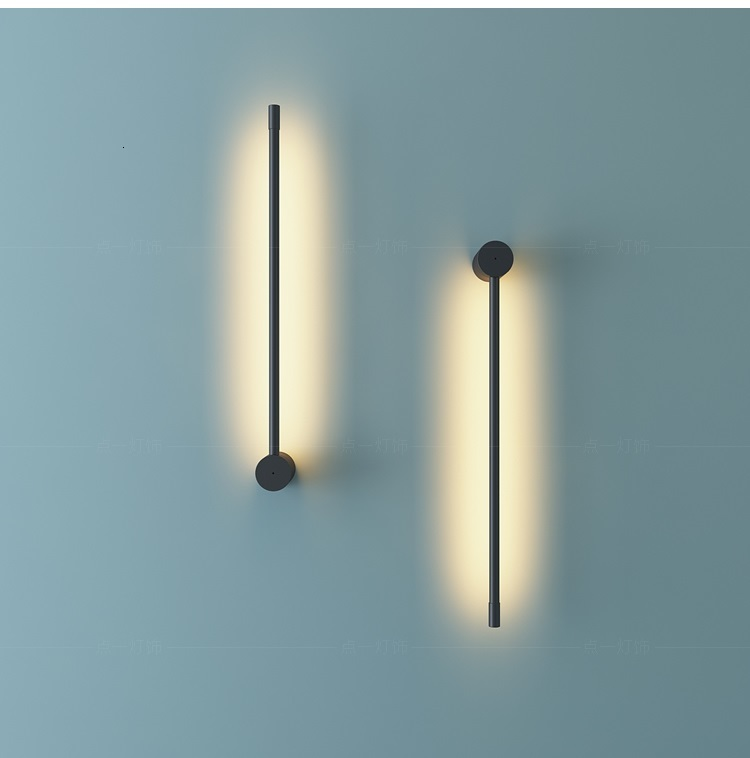 Nordic  Bedroom Wall Light Creative Led Wall Lamp Luminaire Applique Industrial Decor Bathroom Light aplique luz pared