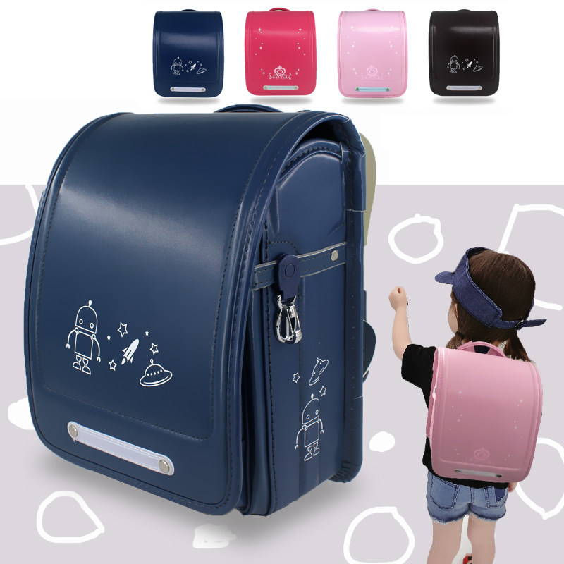 New Fashion Boys Girls School Bags Brand Children Backpack Japanese Style Student Book Bag Large Kids Schoolbag 4-10 Years Old