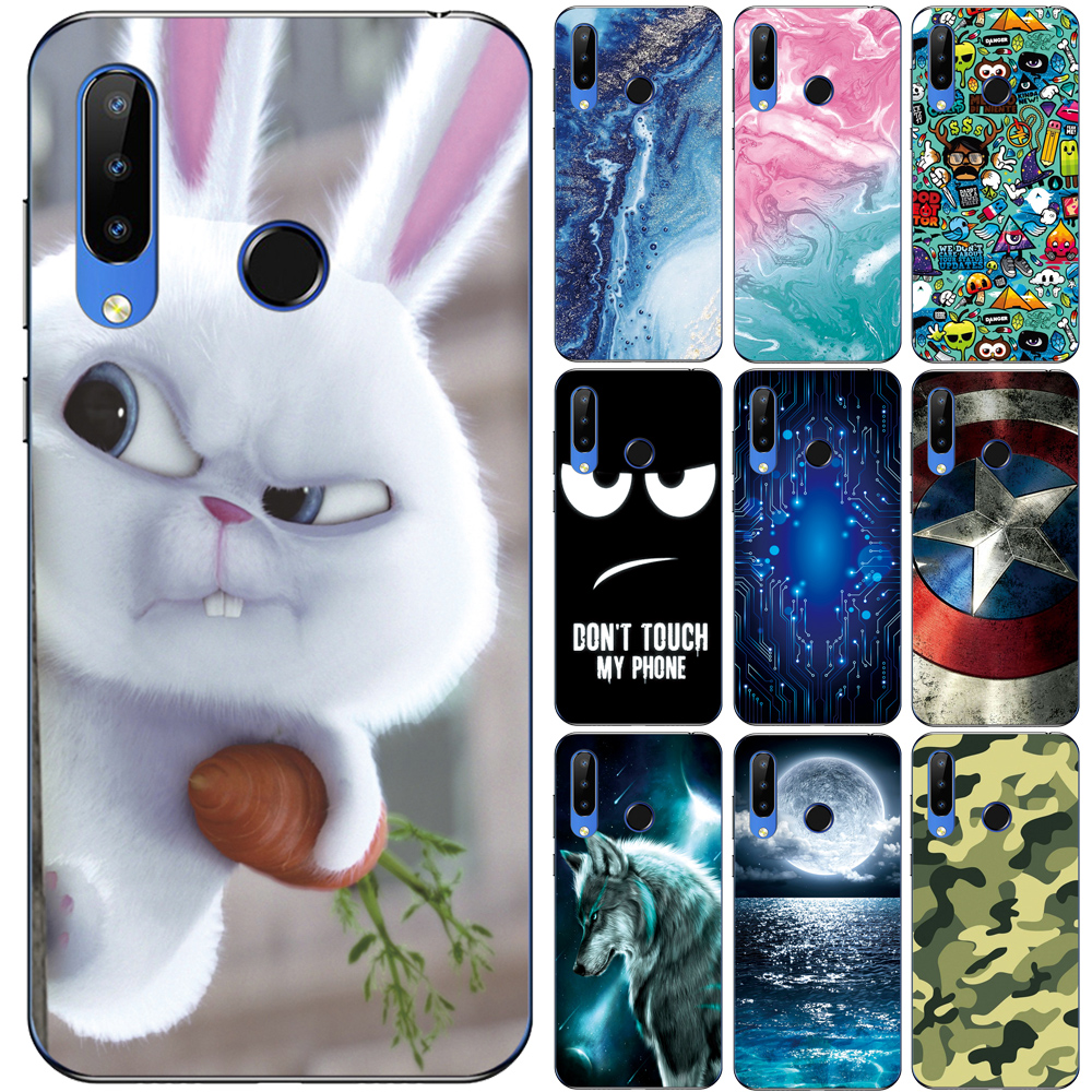 GUCOON Silicone Cover for Doogee N20 N10 Y8C Y9 Plus Case Soft TPU Protective Phone Back Case Bumper Shell image