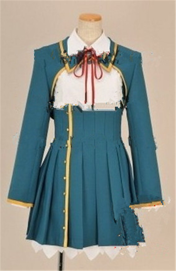 Koi to Senkyo to Chocolate Aomi Isara school uniform cosplay costume