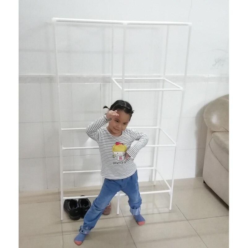 Simple wardrobe shelf for children -7