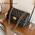 Luxury Designer Bag Women Messenger Diamond Lattice Pattern Crossbody Shoulder Flap Bag Fashion Female Small Handbags 2021 New