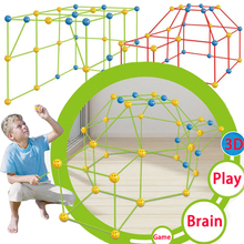 Tents-Kit Play-House Construction for Chidren Birthday School Gift Game-Toys Tunnels