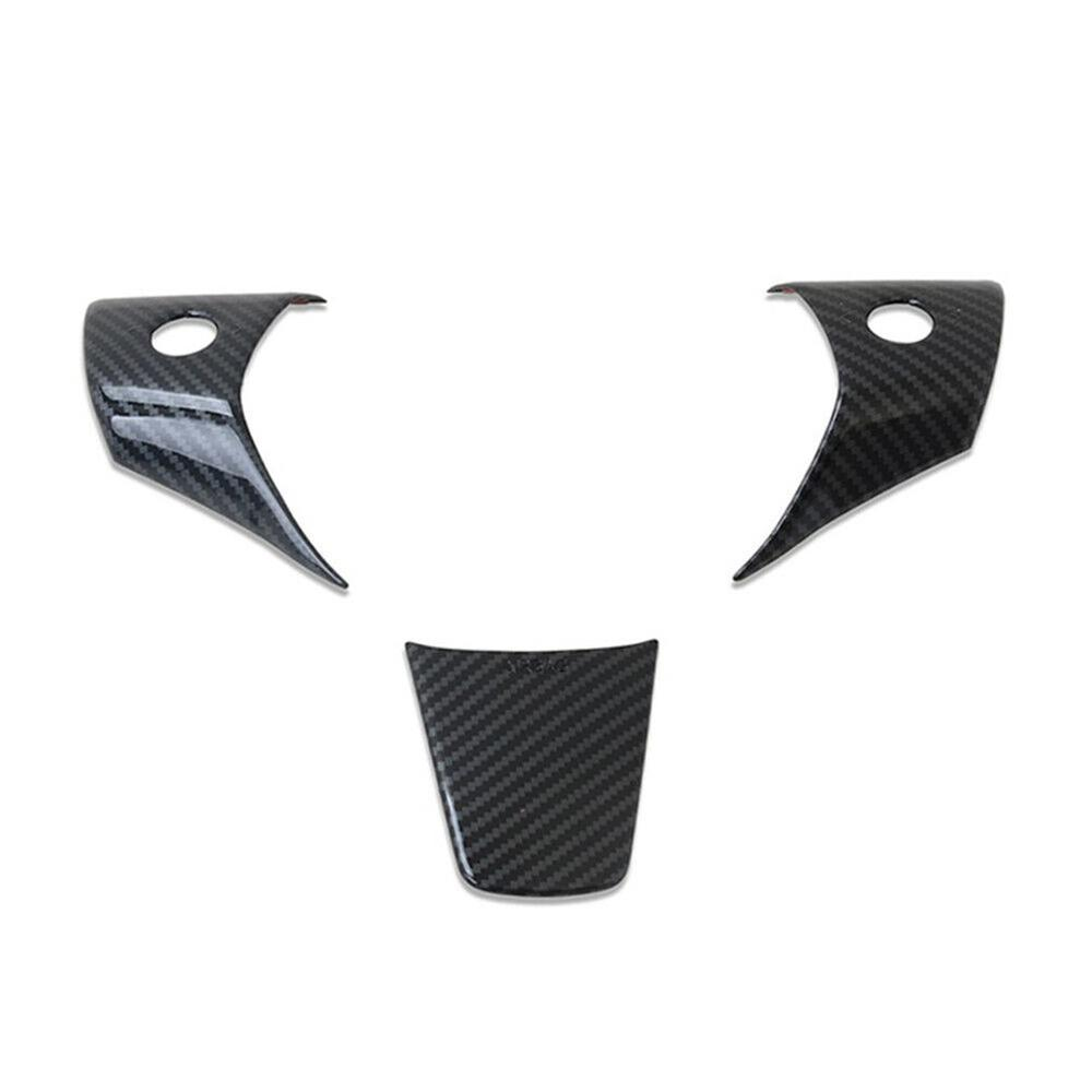 Big sale Carbon Fiber Styling <font><b>Car</b></font> Steering <font><b>Wheel</b></font> Decoration <font><b>Cover</b></font> Sporty Modification Sticker Accessories for Tesla Model 3 image