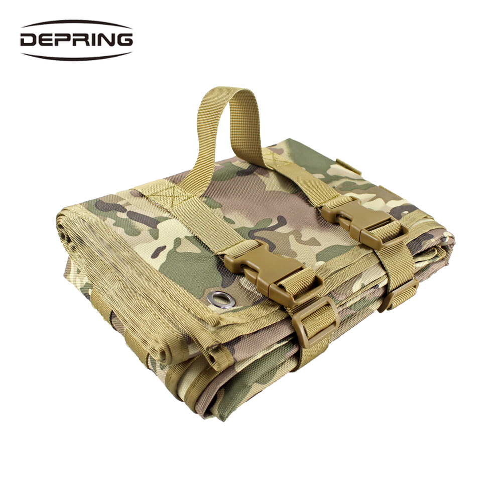 Tactical Shooting Mat Folded Outdoor Training Shooters Pad High Quality Nylon Cloth Mat For Hunting Range Sniper Camping