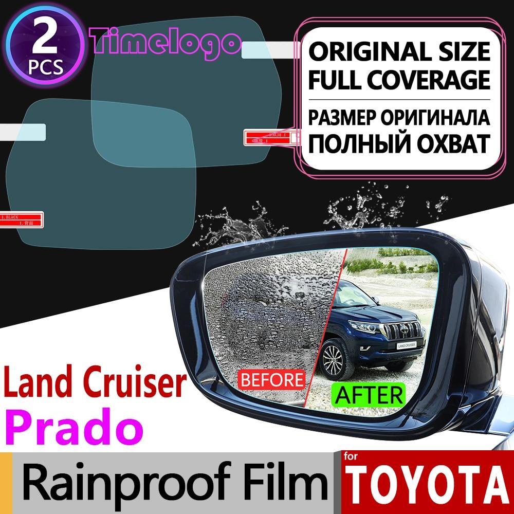 For Toyota Land Cruiser Prado 120 150 90 J90 J120 J150 2018 Anti Fog Film Rearview Mirror Rainproof Anti-Fog Films Accessories