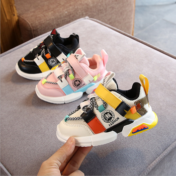 Toddler Infant Kids Shoes For Girl Baby Girls Boys Soft Sole Mesh Running Sport Shoes Girls Kids Sneakers Tenis Infantil Zapatos