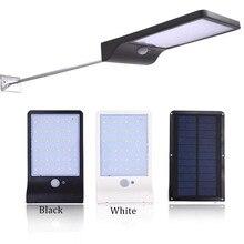 Интеллектуальный инфракрасный индукционный светодиодный солнечный свет Открытый водонепроницаемый свет 36leds 3 режима безопасности лампа Уличный настенный светильник