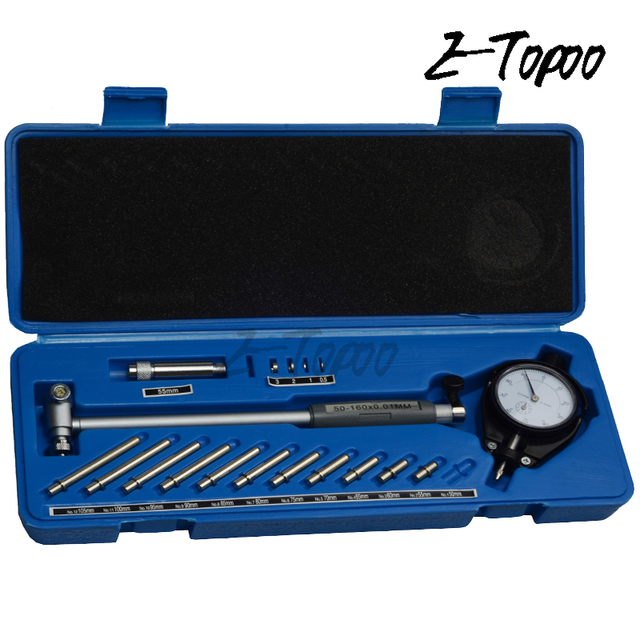 """Dial Bore Gauge 2/"""" to 6/"""" Engine Cylinder Measuring Tool Hole Indicator"""