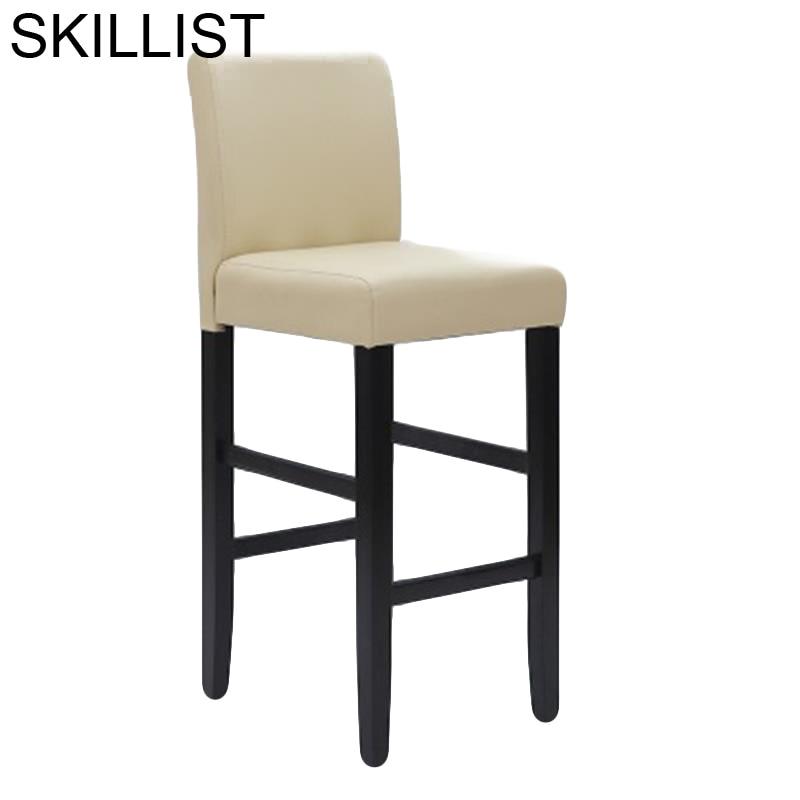 Comptoir Stuhl Ikayaa Sandalyesi Hokery Para Barra Stoel Sedie Silla Leather Stool Modern Tabouret De Moderne Cadeira Bar Chair