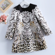 Girls Dress Autumn Winter Party Dress 3 14T Children Clothes Fashion Long Sleeve Princess Dress Clothes for Girls 10 Years Old balabala children princess dress girl sweet child autumn winter plus velvet korean children two pieces fashion dress for girls