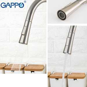Image 5 - GAPPO Stainless Steel Touch Control Kitchen Faucets Smart Sensor Kitchen Mixer Touch Faucet for Kitchen Pull Out Sink Taps