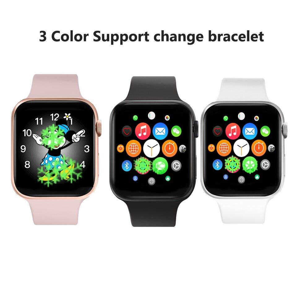 IWO 11 Смарт часы Bluetooth 1:1 серии 4 gps Inteligente Pulseira SmartWatch Android для IOS Upgrade IWO 10 9 8 7 6 5 - 6