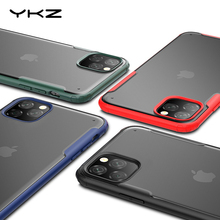 YKZ Protective Case for iPhone 11 Pro Max Case Cover for iPhone XR XS X 7 8 Plus Case Transparent Ultra-thin Matte Coque Back w 1 0 3mm ultra thin protective pc back case cover for iphone 6 transparent grey