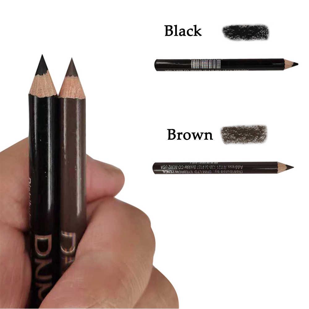 DNM 1PC di Lunga durata Nero/Marrone Matita per gli occhi Bene Schizzo Automatico di Rotazione Eye Brow Enhancer Tatuaggio Tinta penna Cosmetica