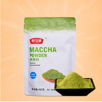 100g Organic Mini Matcha tea Bag Powder Pure Organic Portable Matcha Green tea Powder Professional Kitchenpaper Bags 1