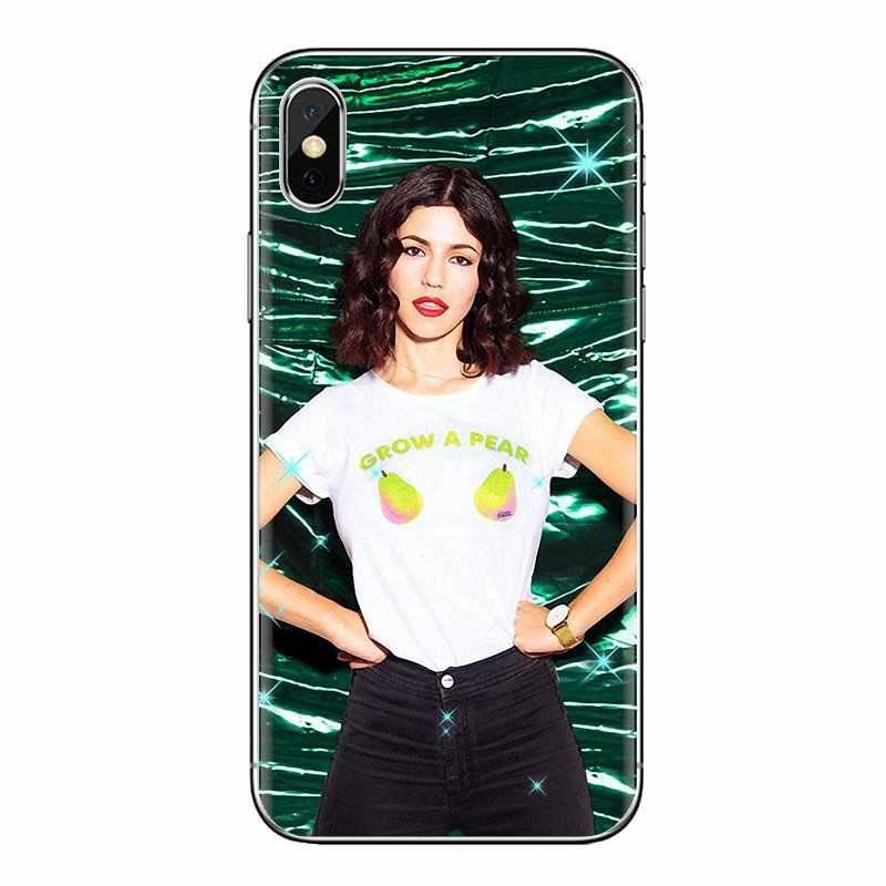 Kecantikan Gadis Marina Berlian Silikon Shell Case untuk Xiao Mi Mi 4 MI 5 MI 5S MI 6 mi A1 A2 5X6X8 9 Lite Se Pro Mi Max Mi X 2 3 2S