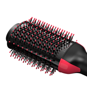 Image 5 - Lisapro Dropshipping 2 IN 1 One Step Hair Dryer Hot Air Brush Hair Straightener Comb Curling  brush hair styling tools