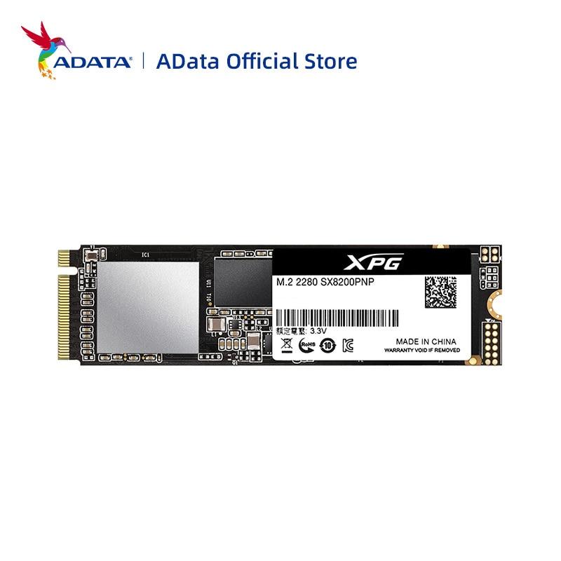 ADATA XPG SX8200 PRO PCIE GEN3X4 M.2 2280 твердотельный накопитель 256 ГБ 512 ГБ 1 ТБ 2 ТБ SSD для ноутбука, настольного ПК, жесткий диск
