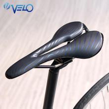 цена на Bike Saddle Velo Brand For Racing Ti-Alloy Gel Bicycle Saddle Lightweight Road Bike Seat Comfort Ergonomic Bicycle Saddle Seat