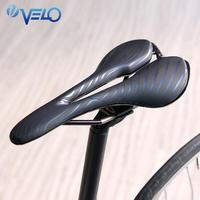 Bike Saddle Velo Brand For Racing Ti Alloy Gel Bicycle Saddle Lightweight Road Bike Seat Comfort Ergonomic Bicycle Saddle Seat