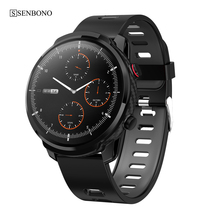 SENBONO 2020 spor S10 artı akıllı saat erkekler kadınlar saat nabız monitörü Smartwatch spor izci Ios Android için
