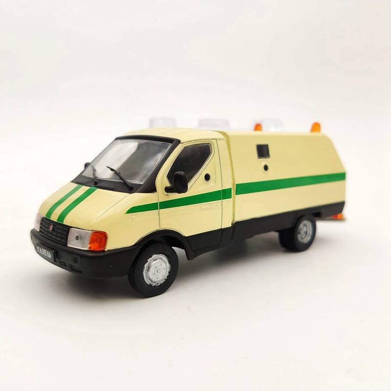 DeAgostini 1:43 ГАЗ-3302 Ратник USSR Vehicles Diecast Models Car Toys