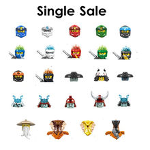 Одиночная распродажа, кирпичи, игрушки, мини-фигурки ниндзя, строительные блоки, фигурки, куклы, Кай Зейн, Чар, лед, император, игрушки для дет...