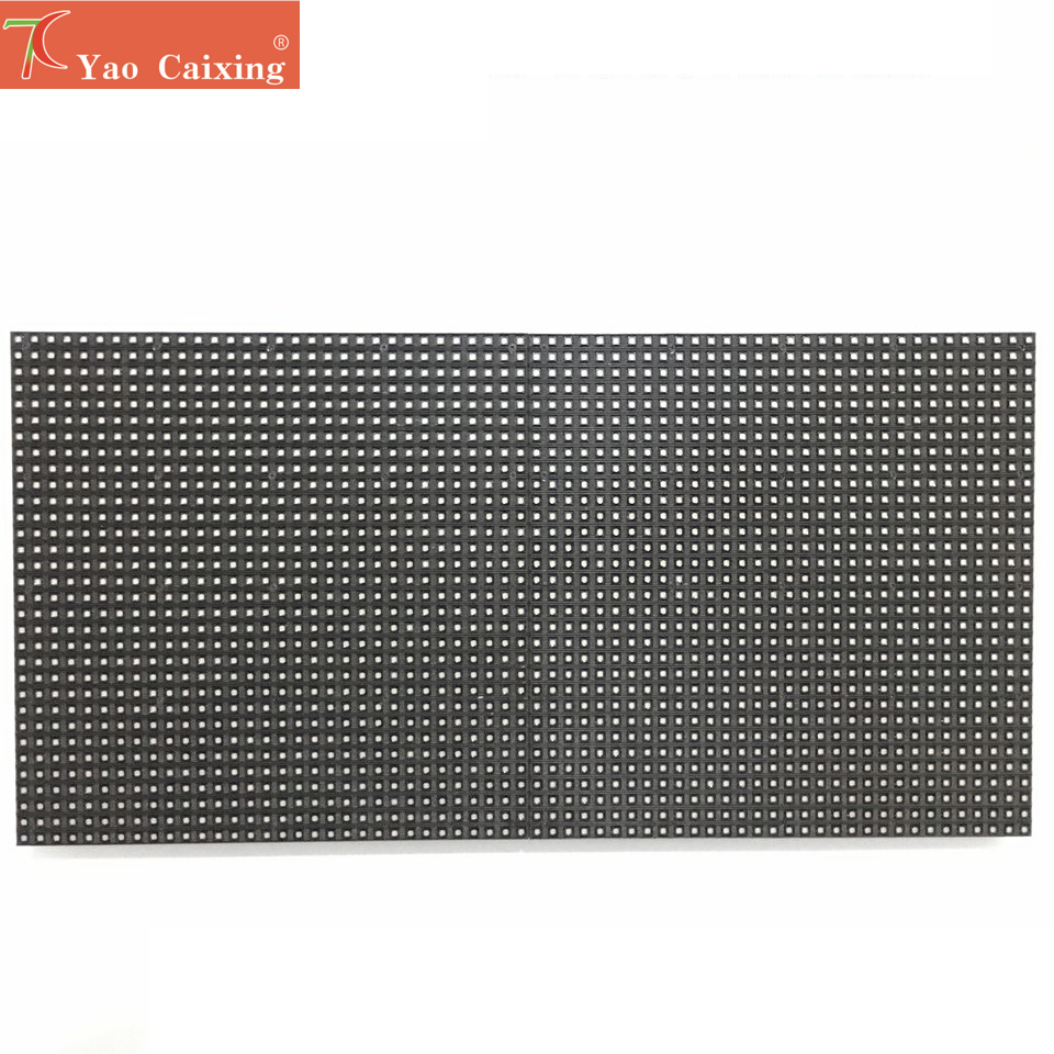 256x128mm Free Shipping Dot Matrix P4 RGB LED Advertising Led Screen Module Board 64x32 Pixels High Resolution Led Display Tv